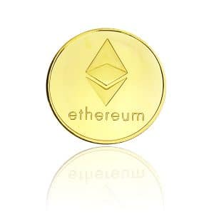Pièce de collection Ethereum or